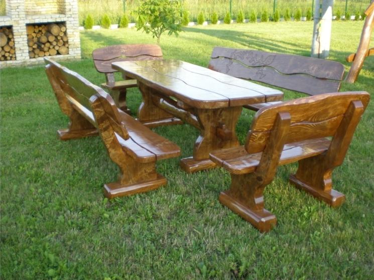 Terrassenmöbel Holz aus Polen