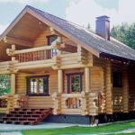Holzhaus aus Polen
