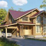 Blockstammhaus aus Polen günstig