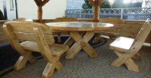 Gartenmöbel rund Rustikal aus Polen