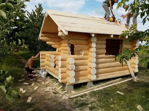 Gartenhaus Sauna aus Polen